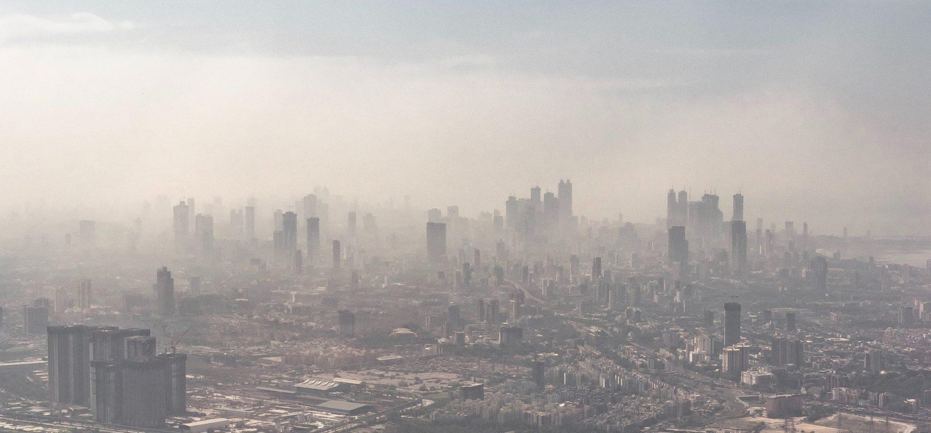 Smog in Mumbai, India