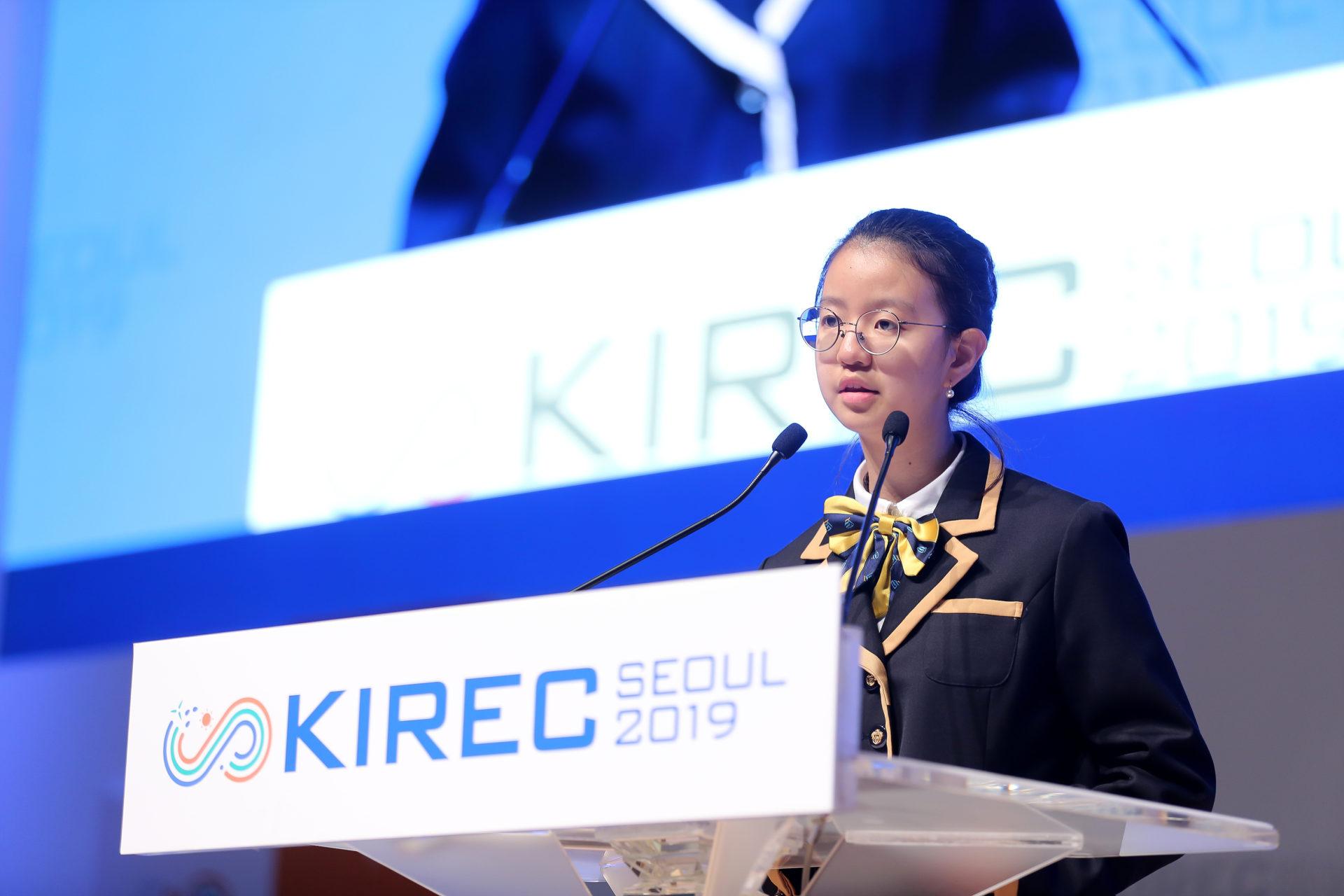What happened at KIREC Seoul 2019 ?