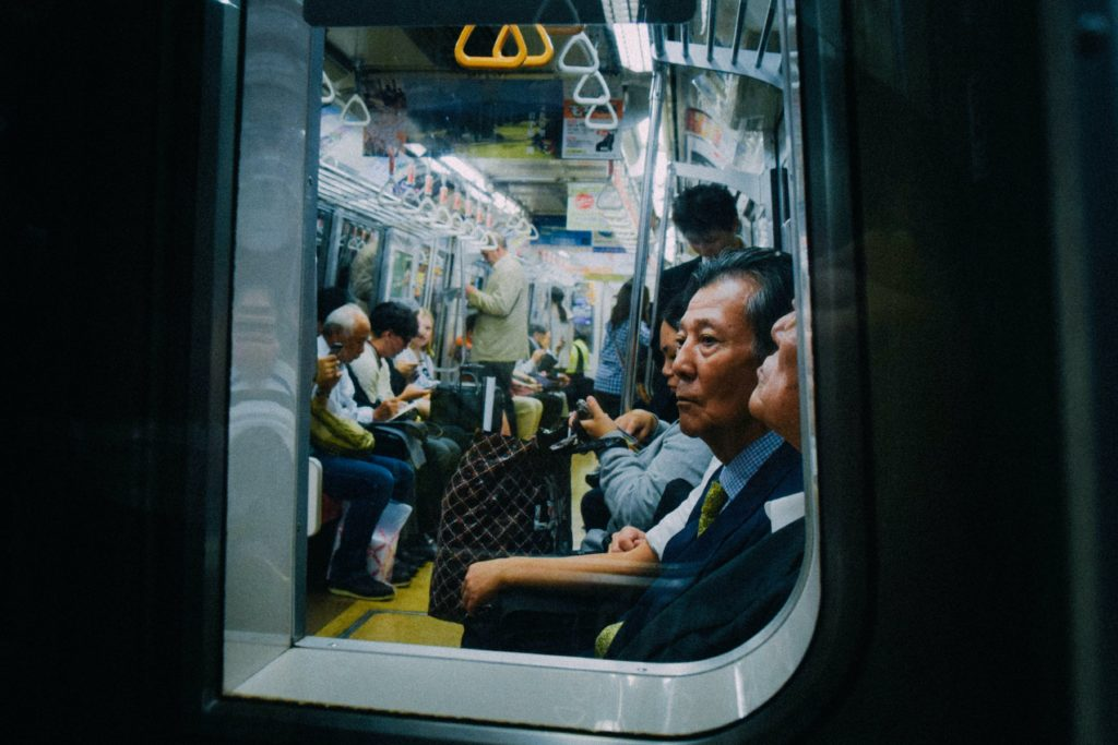 people in the subway